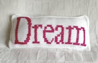 Dream Crochet Cushion