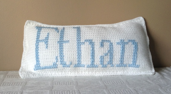 Ethan Crochet Cushion