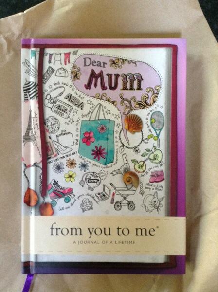 Dear Mum book