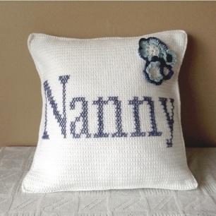 NannyCrochetCushion