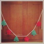 Crochet Christmas Garland2