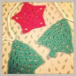 Crochet Christmas Garland 1