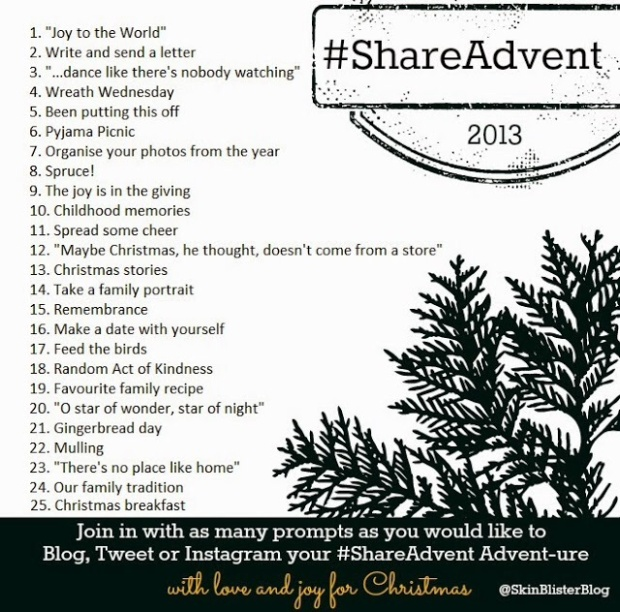 #ShareAdvent