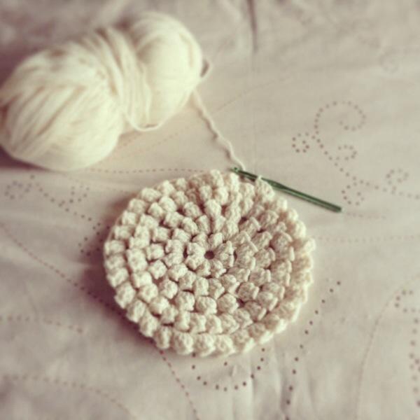Crochet Stitches Popcorn : Popcorn Stitch Crochet Rug - PatternPiper Crochet