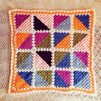 CrochetMoodBlanket2014 Triangles