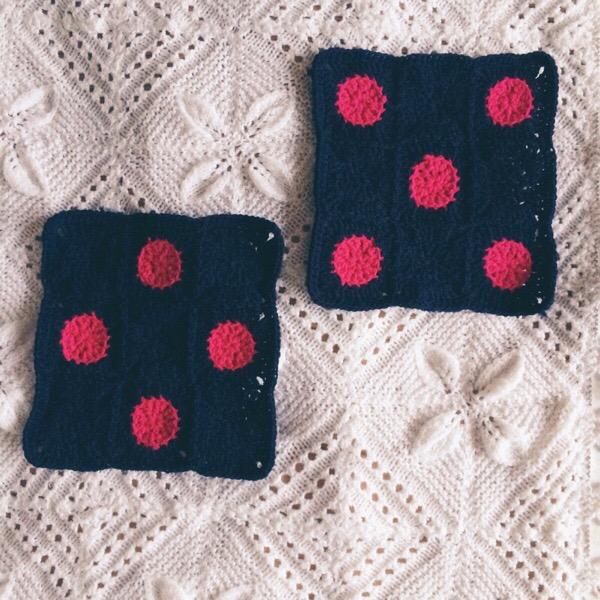 Crochet Polka Dots