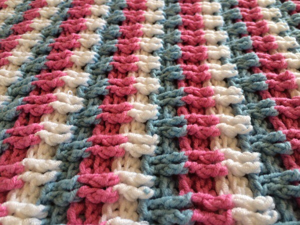 Candyfloss Blanket Stripes