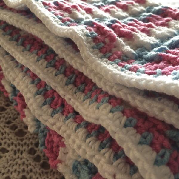 Candyfloss Blanket Folds
