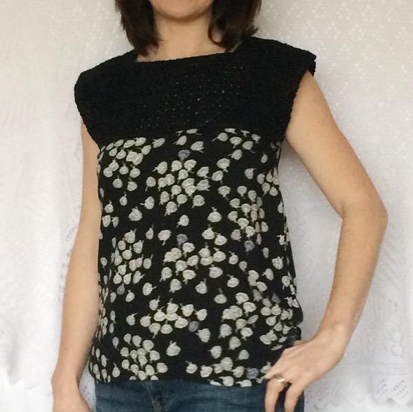 Crochet Top Front