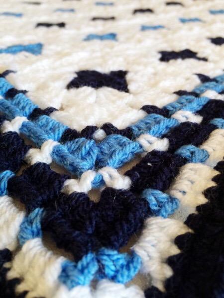 Monty Baby Blue Blanket 02