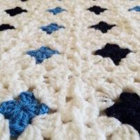 Monty Baby Blue Blanket 01