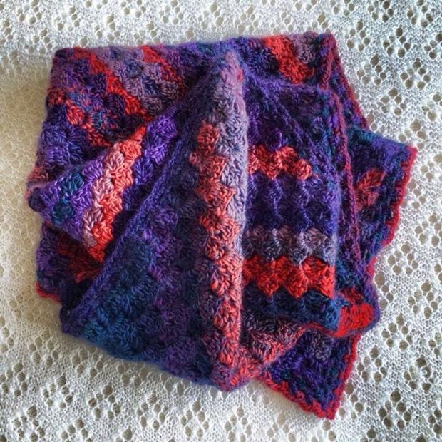 Corner to Corner Crochet Baby Blanket