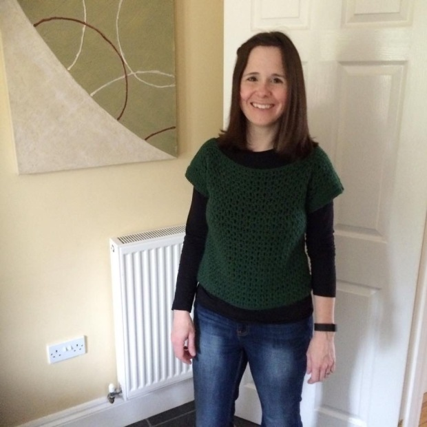 PatternPiper V-Stitch Jumper - Green