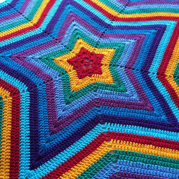 PatternPiper Rainbow Star