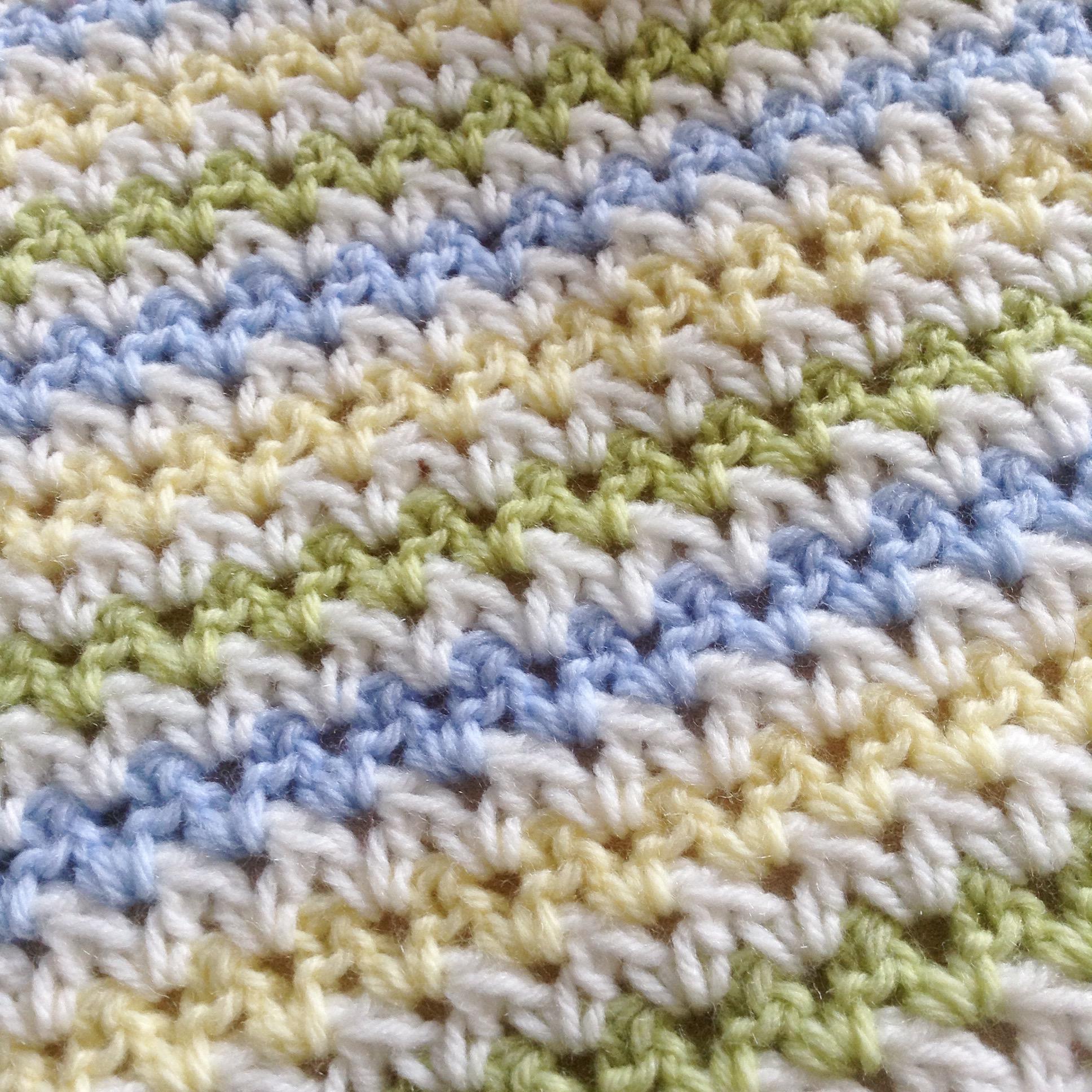 Spring Field Crochet Blanket Pattern – a free pattern – PatternPiper.Com