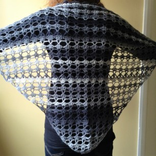 PatternPiper Crochet - Shawl_Black & White