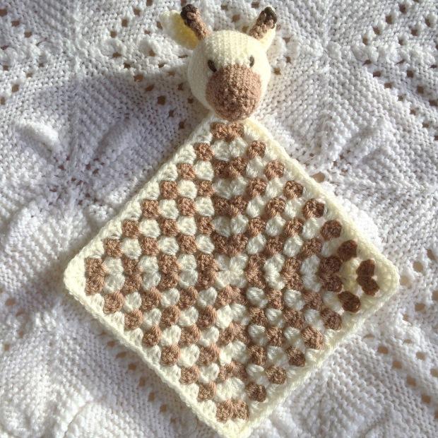 PatternPiper Crochet Giraffe Snuggle Square