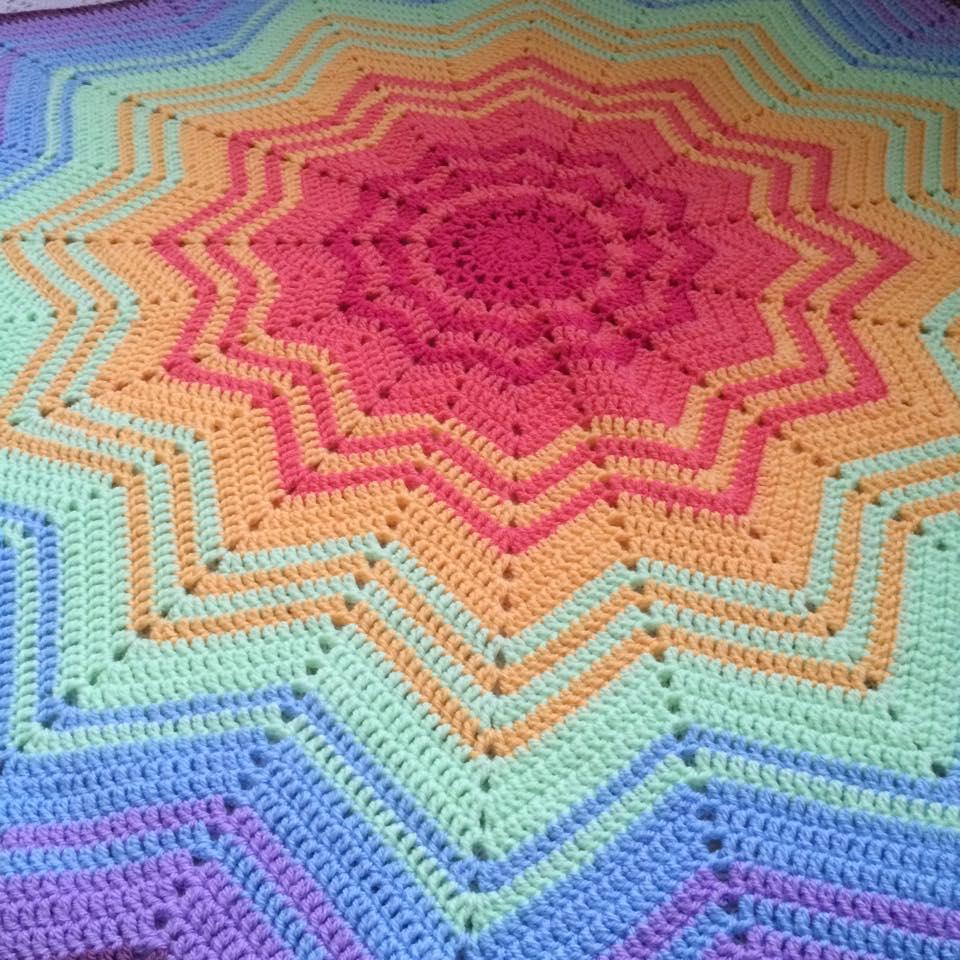 PatternPiper_Rainbow_Star_Blanket