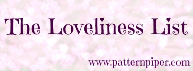PatternPiper The Loveliness List Banner