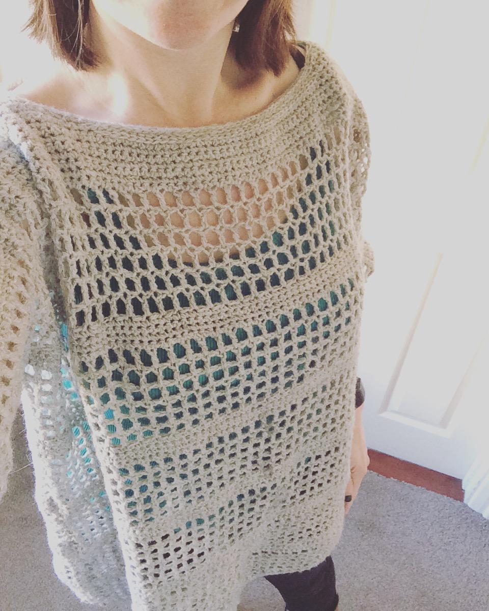Free Crochet Patterns For Mesh Tops : Open Mesh Crochet Top ? a free crochet pattern ...