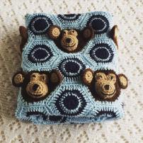 Crochet Monkey Blanket