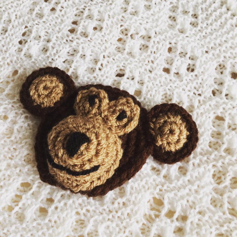 Crochet Baby Blanket Monkey Pattern : Cheeky Monkeys Crochet Blanket ? PatternPiper Crochet